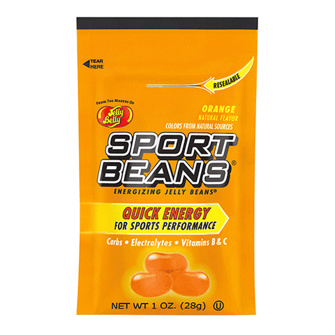 Jelly Belly - Sports Beans - Orange - 24 pack - 1oz