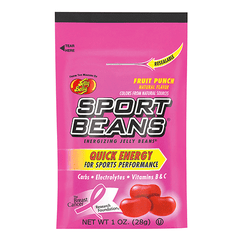 Jelly Belly - Sports Beans - Fruit Punch - 24 pack - 1oz