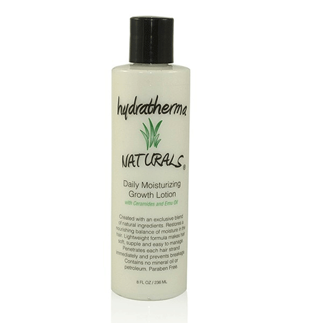 Hydratherma Naturals - Daily Moisturizing Growth Lotion - 8oz