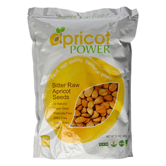 Apricot Power - Bitter Raw Apricot Seed Kernels - 32oz