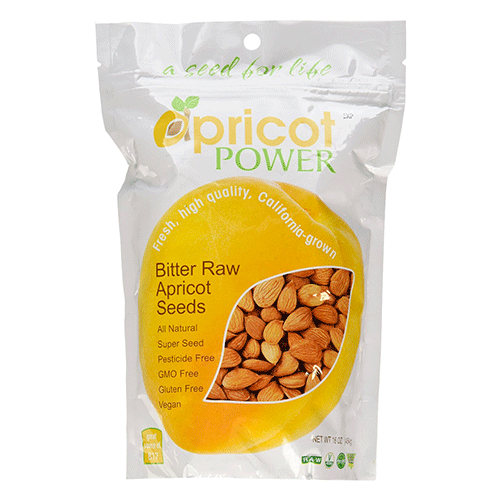 Apricot Power - Bitter Raw Apricot Seed Kernels - 16oz