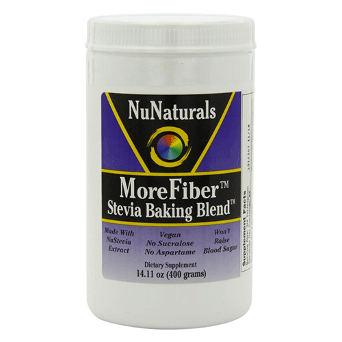 NuNaturals - Morefiber Stevia Baking Blend - 14.11oz
