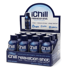 Ichill - Relaxation Shot - 2oz x 12 pack