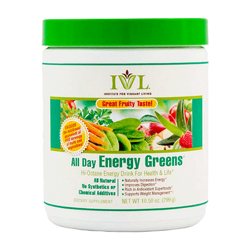 IVL - All Day Energy Greens - 10.5oz