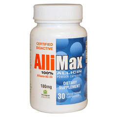 Allimax - 100% Allicin 180mg - 30 caps