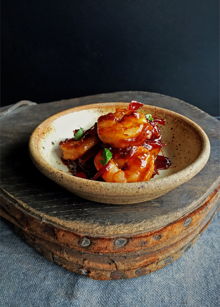 Romy Gill's Sweet and Sticky Prawns