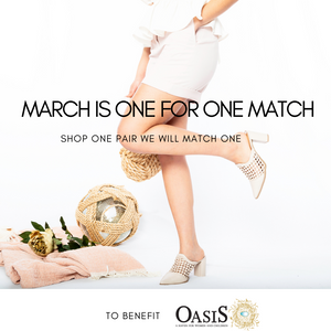 One for One Match help us to help a Women's Shelter