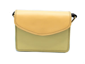 Bari Yellow Crossbody