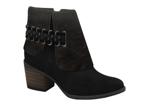 BOOTIE SLASH BLACK BOOT - DPARZ
