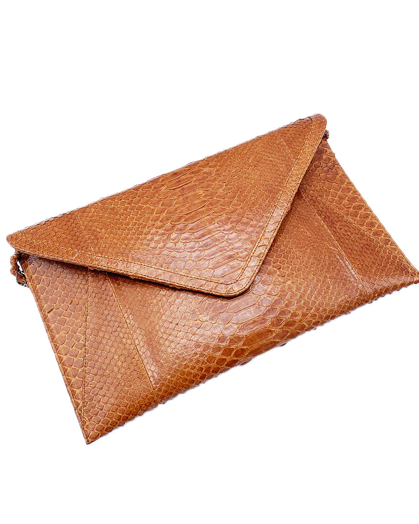Cara Brown Envelope Clutch