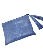 MELLI blue Square Clutch