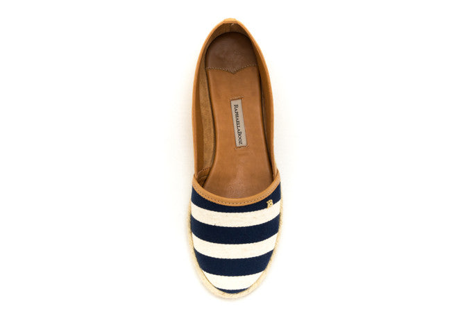 FLAT ESPADRILLE CAMEL CRUISE LOAFER - DPARZ