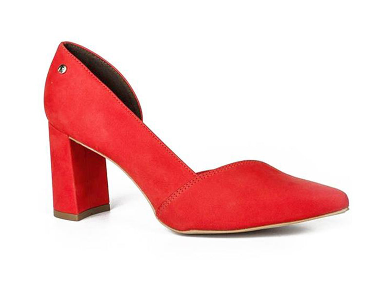 Isabella Red Pump