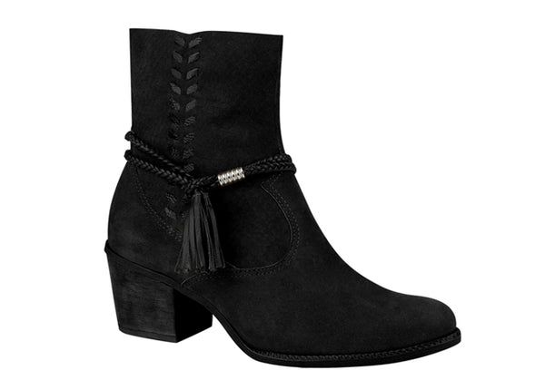 Black Booties T0942A