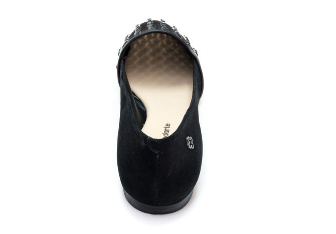 LOAFER BLACK SUEDEGEMS - DPARZ