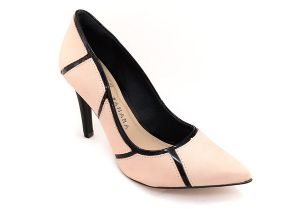 PUMPS  BLUSH & BLACK - DPARZ