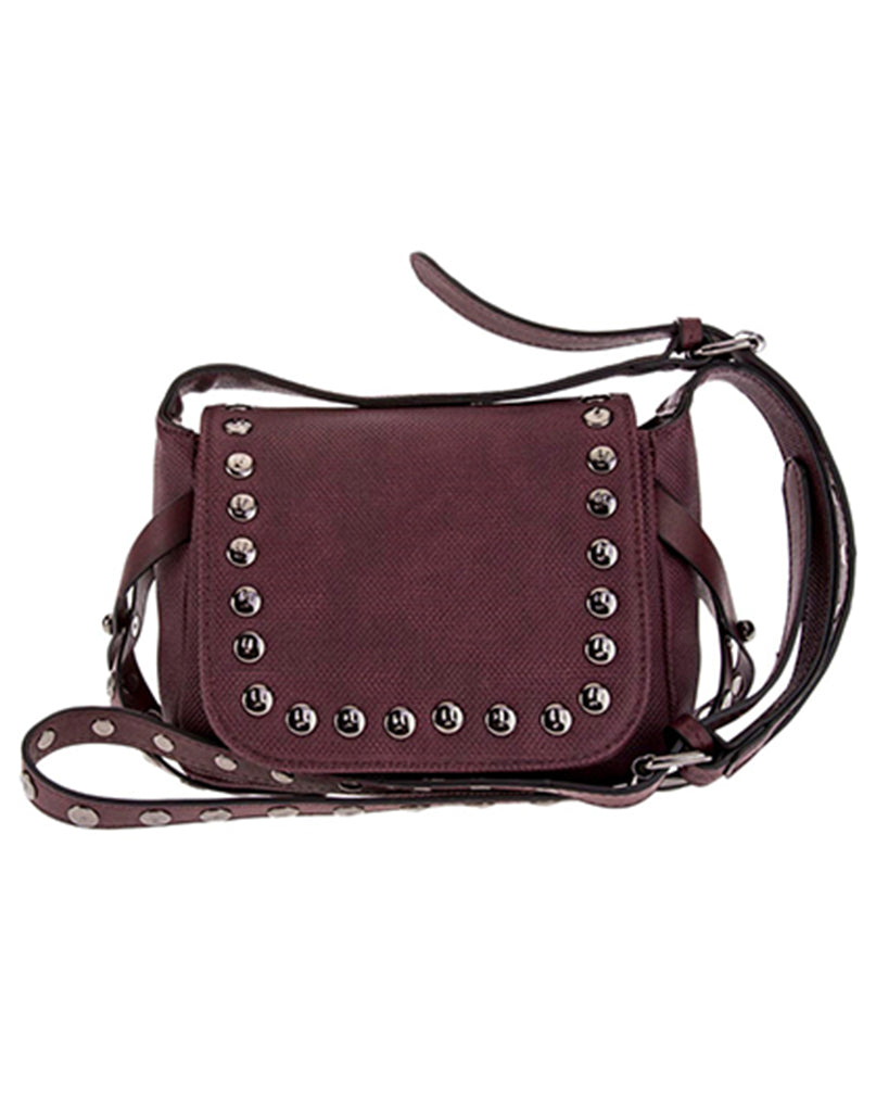 Heather Burgundy Crossbody