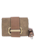 Beige Clutch and Crossbody Purse Bag |Women's Leather Handbags