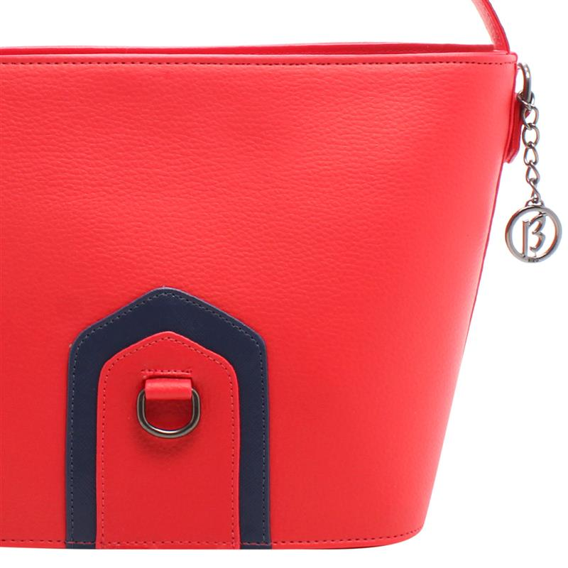 Corinne Red Crossbody Tote