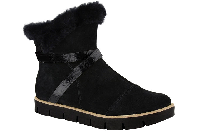 Black Winter Boots T1303