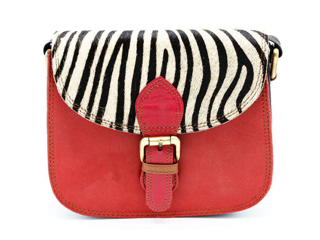 Garda Brick Red Crossbody