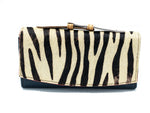 Leece Zebra Wallet Clutch