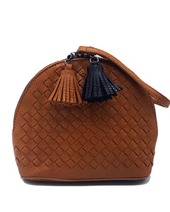 Clutch & Crossbody leather Bags leather Mini Tassel