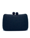 Ella Black Clutch Bag