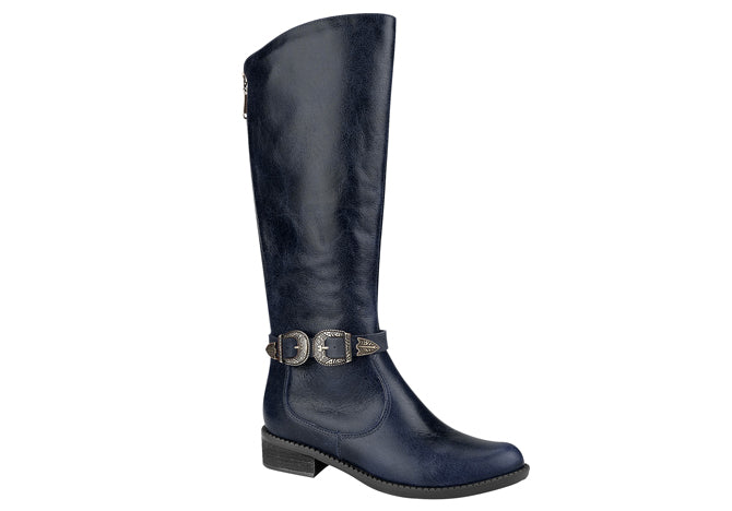 Navy Thigh-High Boots  T1244