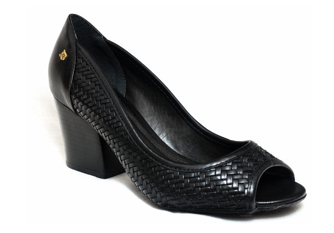 PEEP TOE  BLACK - DPARZ
