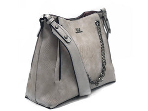 Nude Medium Leather Tote Bag | Women's Handbags