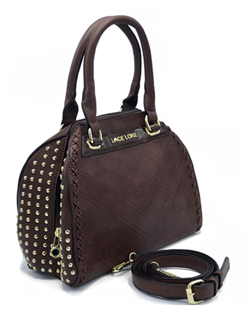 Medium Leather Top Handle Bag | Women's Handbags