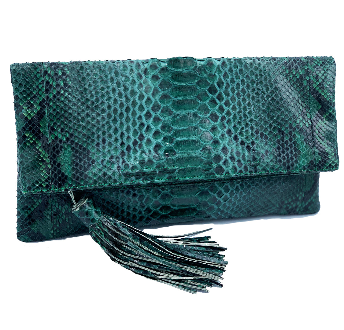 CAMILLA - Green Clutch