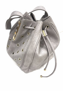 Bucket Bag Marfil with Gold