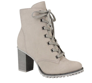 Cement Ankle Boots