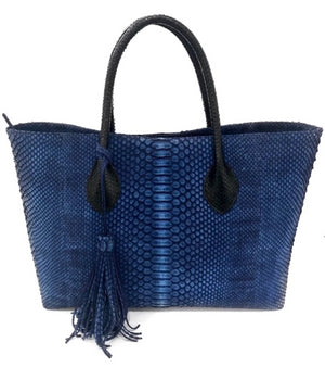 Emma Denim Blue Tote