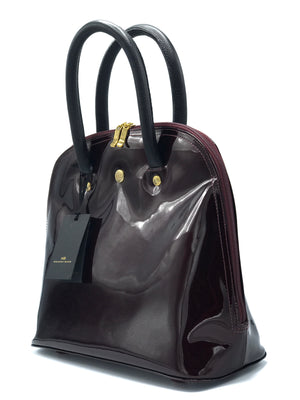 HANDBAG SAMARA CHERRY BLACK DS2577