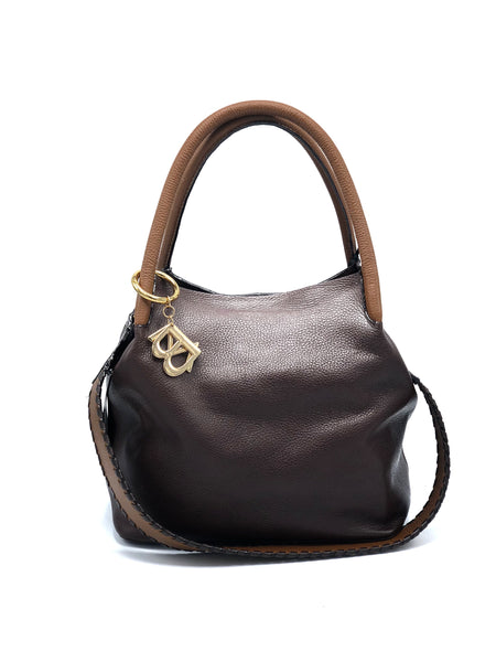 HANDBAG BROWN/CAMEL DS2836