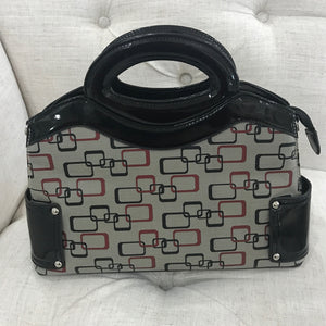 Small  Handbag black textured-leather - DPARZ