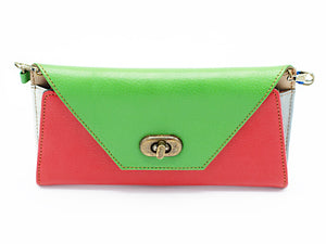 Milan Red Clutch