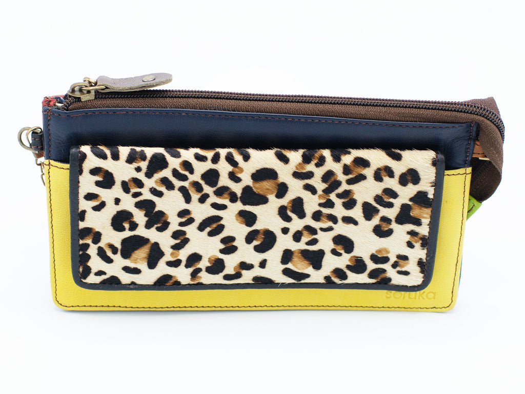 Milan Yellow Clutch