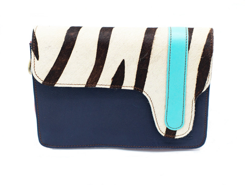 Bari Navy Crossbody