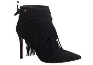 PUMPS BOOTIE BLACK - DPARZ