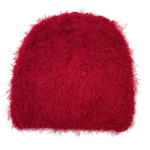 Red Knit Cashmere Hat
