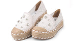 Lilly White Espadrille