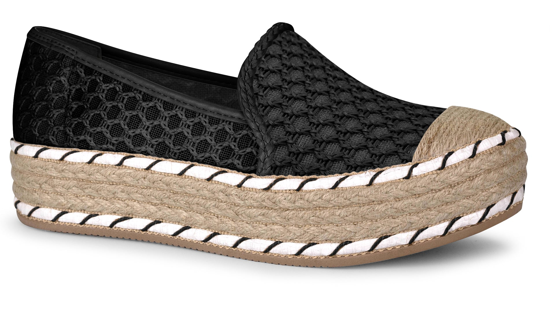Lilly Black Espadrille