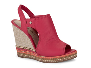 Valencia Scarlet Wedge