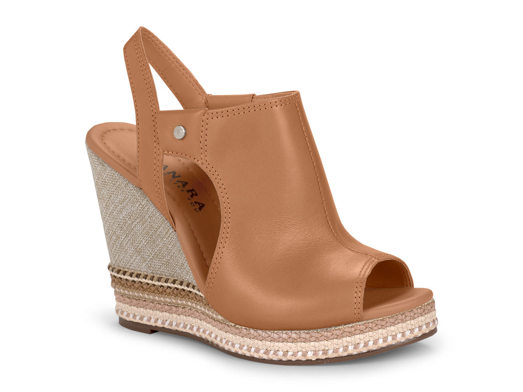Valencia Canela Wedge