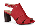 Juliana Red Sandal