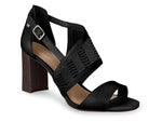 Juliana Black Sandal